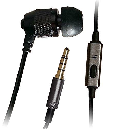 Far End Gear In-Ear-Stereo-zu-Mono-Kopfhörer mit Mikrophon, kurz, mit 55,9-cm-Kabel.