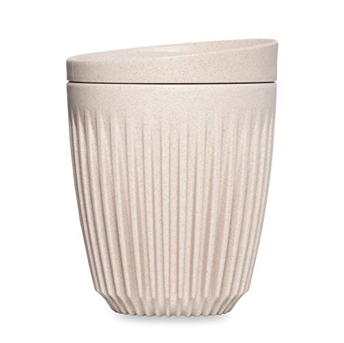 HuskeeCup - Reuseable Coffee Cup (8oz, Natural)