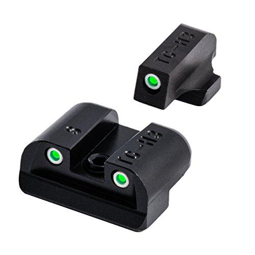 Tritium Handgun Glow-in-the-Dark Night Sights for Sig Sauer Pistols, Sig #6 Front / #8 Rear