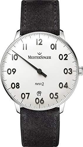 MeisterSinger NeoQ NQ901N Orologio con solo una lancetta Con cinturino di...