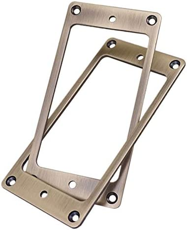 LNIMI 2Pcs Humbucker Pickup Super sale period limited Frame Mounting service Cover for Elec