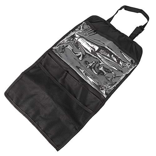 Bolsa de almacenamiento para el automóvil, organizador para el automóvil, organizador universal para el asiento trasero, bolsillo para el automóvil, soporte para bolsa para tableta, botella, bebida, c