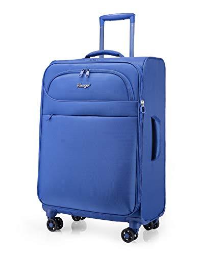 Verage BREEZE 4 Rollen Stoff Trolley Reisekoffer Blau, M-77L (24