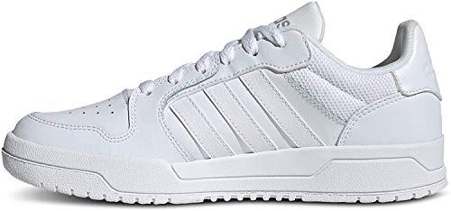 adidas Damen Entrap Leichtathletik-Schuh, FTWR Weiss/FTWR Weiss/MATT Silver, 39 1/3 EU