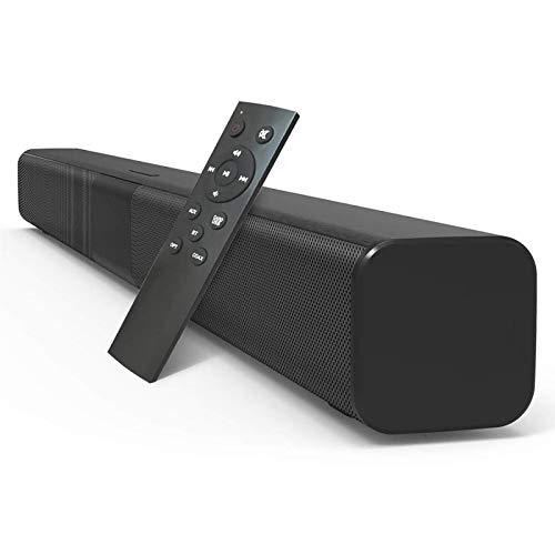 HPH Barra De Sonido De TV De 50 W con Cable E Inalámbrico Bluetooth 5.0 Altavoz De Cine En Casa Barra De Sonido Estéreo Subwoofers Incorporados con Control Remoto