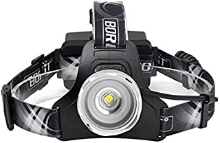 Image of HeadLamp LED 2000lm L2 Led Headlamp 3-mode Zoom Headlight Rechargeable Power Bank Head Torch Hunting Flashlight