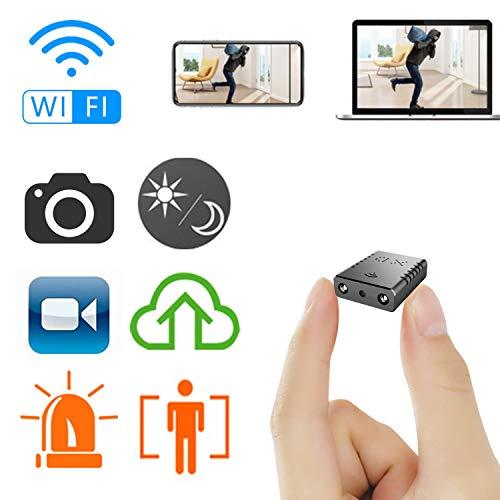 超小型WiFi隠しカメラ RETTRU1080P 超高画質 無線 防犯カメラ 監視カメラ IPカメラ P2Pカメラ 子供 カメラ 乳母カメラ スパイカメラ ワイヤレス 小型 隠しビデオカメラ ドライブレコーダー 車載 Wi-Fi 極小 赤外線 暗視録画機能付き 24時間 長時間録画 動体検知 屋内/屋外用 駐車監視 iPhone/Android/Windows PC/iPad対応 スマホ 遠隔監視操作 日本語説明書付き