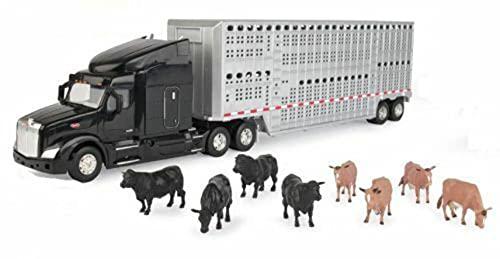 ERTL 1/32 Semi with Cattle Trailer &...