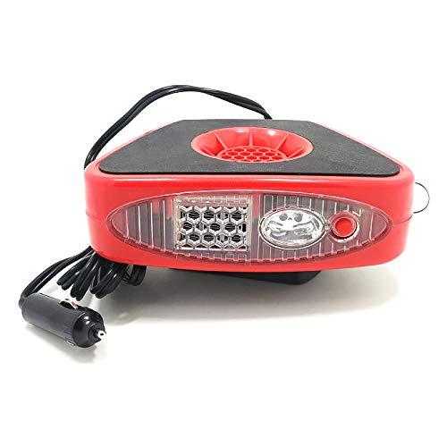 Ventilateur de Voiture 12V 150W D/égivrage et D/ésembuage R/échauffeur Portable de Voiture ave Purificateur dair Chauffage//Refroidissement Rapide AQOTER 2 en 1 R/échauffeur Chauffage de Voiture