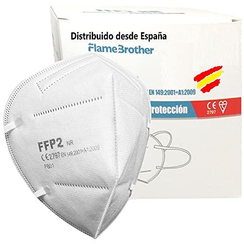 Máscaras Ffp2 Certificación Ce 5 Marca Flame Brother