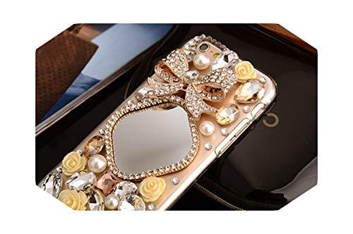 Luxury Bling - Carcasa para iPhone 12, 11 Pro, Max 5, 6 Plus, 7, 8 Plus, XR XS y Max-1 para iPhone 11