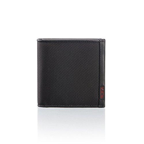 Tumi Alpha Münzbörse 019246D, 10 cm, Black Ballistic