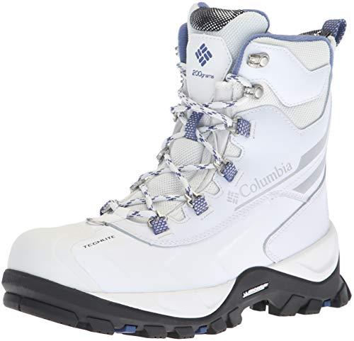 Columbia Women's Bugaboot Plus IV Omni-Heat Snow Boot, White, eve, 8.5