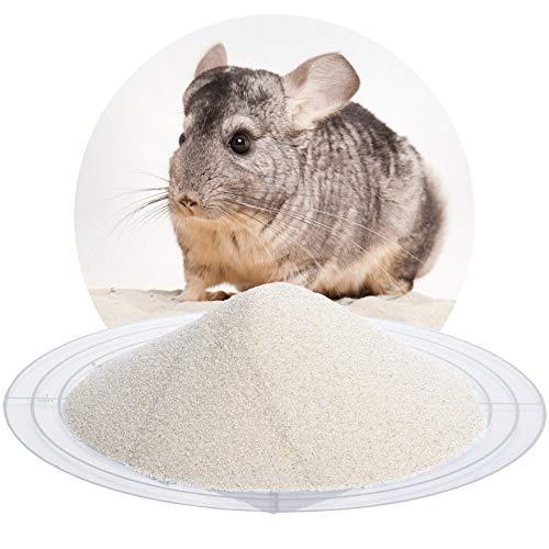 Schicker Mineral 25 kg Chinchillasand Badesand beige, hochrein, samtweich