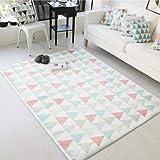 MITICH0 גיאומטרי בוהמיה סגנון רך שטיחים שטיחים שינה החלקה רצפת מחצלות לסלון מטבח שפשפת אספקת בית Tapete שטיח