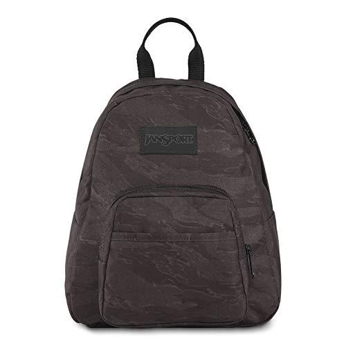 JanSport Half Pint LS Mini Backpack - Ideal Day Bag for Travel & Sightseeing | Black Tiger Camo