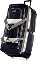 """Constructed Of Supreme """"Protecflon"""" Polyester With 1200 D. Polyester Recessed in-line skate metal ball bearing wheel system and hideaway pull handle U-shape top opening system for easy access to spacious main compartment Self-repairing excel zippers ..."""