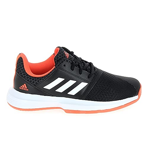 adidas CourtJam xJ, Zapatillas Deportivas, NEGBÁS/FTWBLA/Rojsol, 32 EU