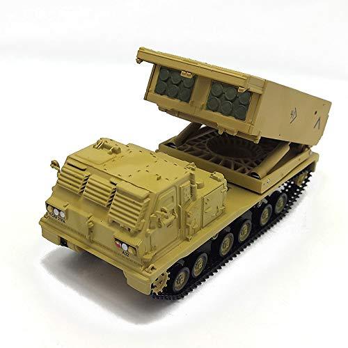 LSJTZ Tank Raketenwerfer M270 Modell Legierung militärische Enthusiasten Souvenir-gelbe Wüste