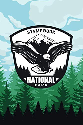 National Park Stamp Book: National Parks Passport Journal For Kids and Adults | Trekking Guide Booklets Gift Idea