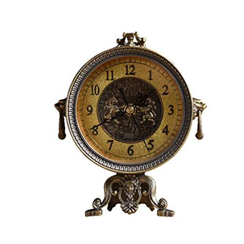 zxb-shop Reloj de Mesa Creativo Retro Reloj Americano Reloj