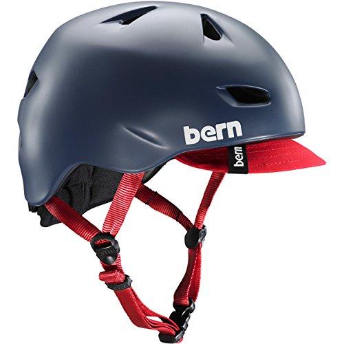 Bern - Casco para Bicicleta - Modelo: Brentwood Matte Bright. Color: Azul....