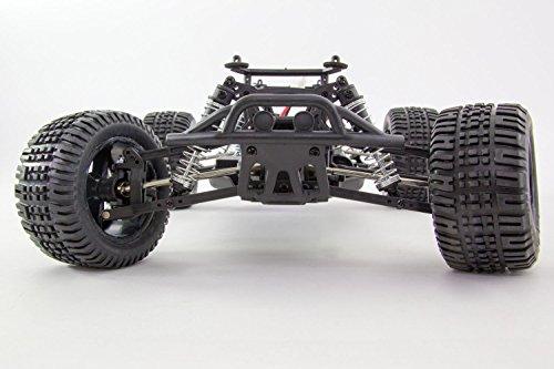 RC Auto kaufen Truggy Bild 2: XciteRC 30308200 - Ferngesteuertes RC Auto - Truggy one 10 4WD RTR Modellauto M1:10, schwarz*