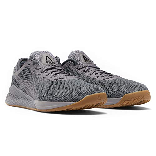 Reebok Mens Nano 9 Training Entrainment Shoes (Gravity Grey/Gravity Grey/Cold Grey 6, 9.5 M US)