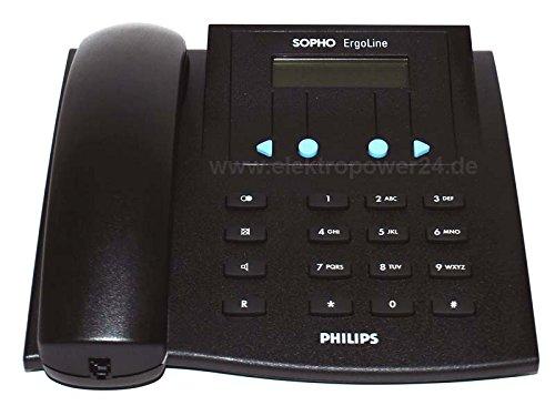 Philips sopho Ergoline E320ISDN con cable Teléfono DeTeWe BeeTel 52I