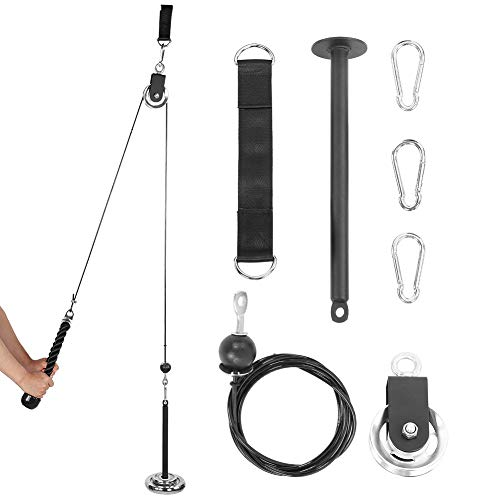 Sistema De Polea De Elevación De Montaje Simple, Sistema De Polea De Fitness, Parte Posterior para Brazos