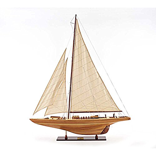 rc sailboat models America'S Cup Endeavour 1933 Yacht Wood Model 40