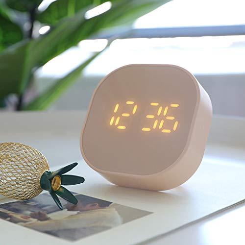 hongbanlemp Reloj Sobremesa 2.2 Pulgadas Estudiante Smart Cube Mini Multifunción Digital Digital Reloj de Escritorio Escritorio Reloj (Color : C)