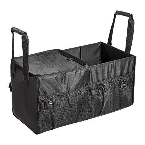 Amazon Basics - Organizador de maletero para el coche con bolsa isotérmica