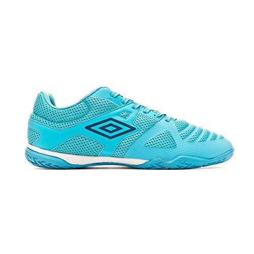 Umbro Vision II Liga, Zapatilla de fútbol Sala, Scuba Blue-Evening Blue, Talla 10 US (44 EU)