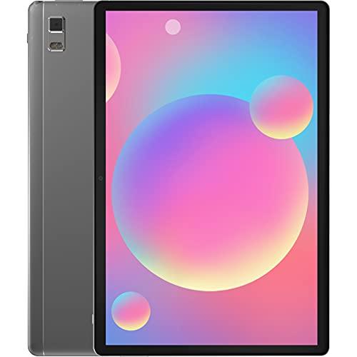 Jumper Tablet 10.1-Zoll, 128 GB eMMC/4 GB DDR3, Android 11, Tablet PC T618 2.0 GHz Prozessor, Mali G52 850MHz, 1920 * 1200 FHD IPS Display, 5.000mAh Akku, WiFi, Bluetooth 5.0, Type-C, 5 MP+13 MP Kamera