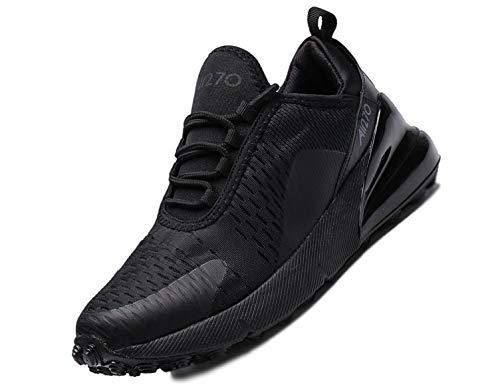 SINOES Herren Sportschuhe Atmungsaktiv Gym Turnschuhe Leichtgewicht Laufschuhe Lace Up Freizeitschuhe Trainer Outdoor Sneaker Shoes