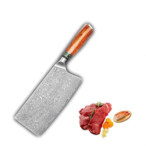 Chino CUCHILLO DE CHEF 67 CAJA VG10 DAMASCO CUCHILLA DE CUCHILLA DE CUCHILLA DE CUCHILLA SHARD UTILIDAD COCINA CUCHILLA CUCHILLO CHEF DE CHEF cocina (Kitchen Knife Size : 8 inch)