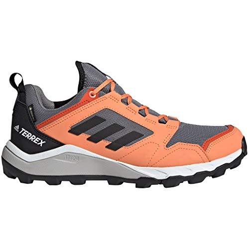 adidas Damen Terrex Agravic Tr GTX W Leichtathletik-Schuh, Grau DREI F17 / Kern Schwarz/Bernstein, 38 2/3 EU