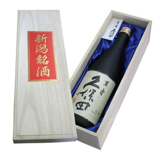 (青布桐箱入り) 久保田 萬寿 (純米大吟醸) 720 ml