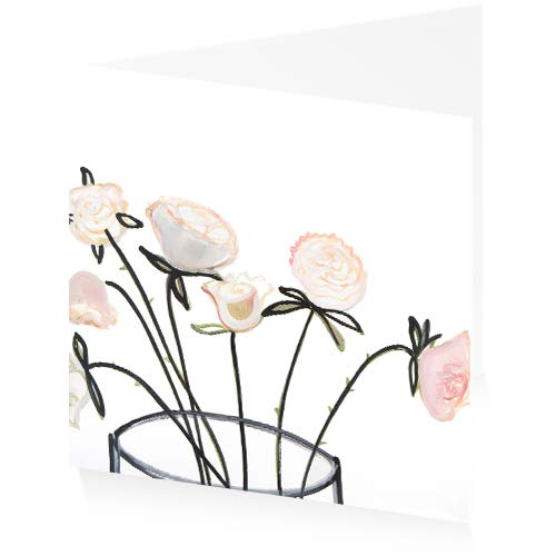 ArtPress Jessica Cooper Bella Hochzeitskarte (15 x 15 cm)