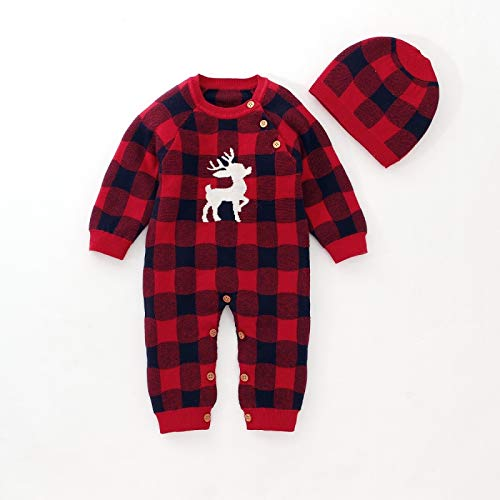 Clothing & Beauty Long-Sleeved Leotard Baby Siamese Romper Climbing Clothes Suit Clothing & Beauty (Color : Red)