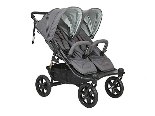 Best Price Valco Duo X Double Stroller in Dove Grey