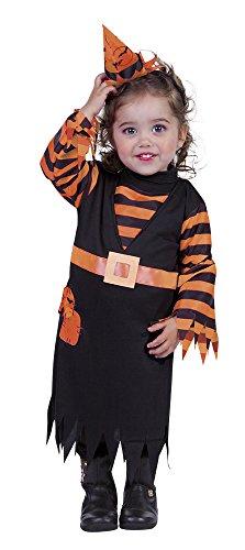 Rubies Disfraz Infantil - Brujita Naranja 1-2 años