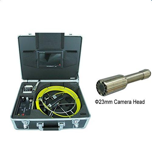 GOWE Cámara industrial de inspección de tuberías de plomería con cable de 30 m y sensor de función DVR. Tamaño: 0,63 cm. Resolución horizontal: 420TVL. Sistema de señal: NTSC.