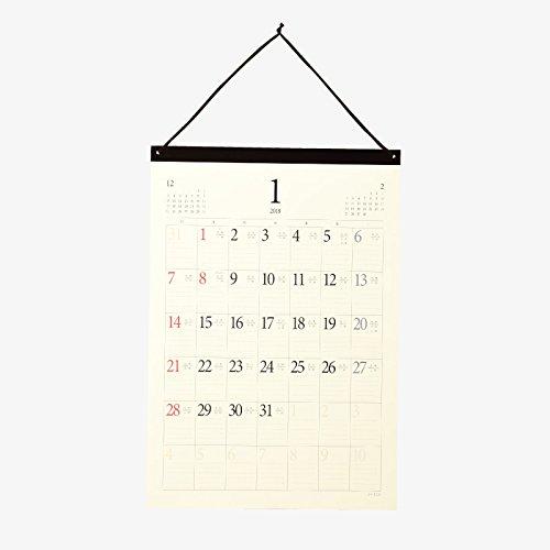 暦注(れきちゅう)[2018年版SHICO 六曜・九星・二十四節気・雑節・六十干支掲載 壁掛けカレンダー]