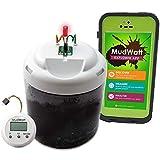 MudWatt (マッドワット) 実験キット 泥から発電 自由研究 知育玩具 科学 工作キット SDGs 微生物発電 [ 日本語説明書付 ]