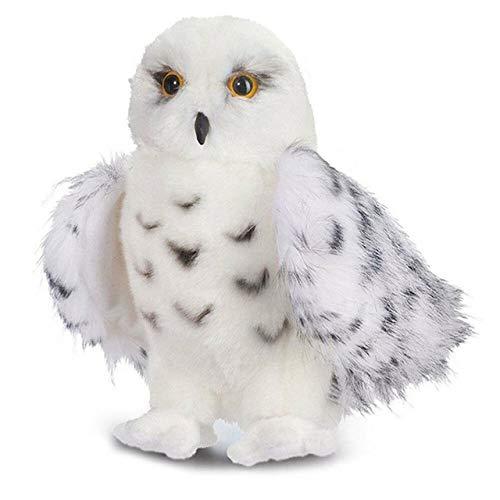 Mhtop 12 Pulgadas Douglas Wizard Snowy White Plush Hedwig Owl Toy Potter Lindo Animal de Peluche muñeca Regalo para niños Blanco 10 Inch