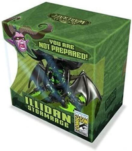 SDCC Comic Con 2015 Blizzard World of Warcraft Cute But Deadly Shadowform Illidan Figure by Prannoi