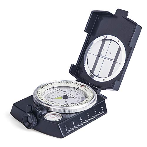 COSTIN Multifunctional Compass, Metal Military Waterproof High Accuracy Compass