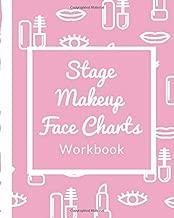 Stage Makeup Face Charts Workbook: Blank Template for Actors | Evening | Runway Looks | Makeup Artists | Direct Sales Consultants  Beauty School ... | Video Tutorial | Makeup Junkies Workbook